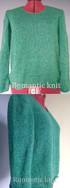 Romantic knit: Silk Wool