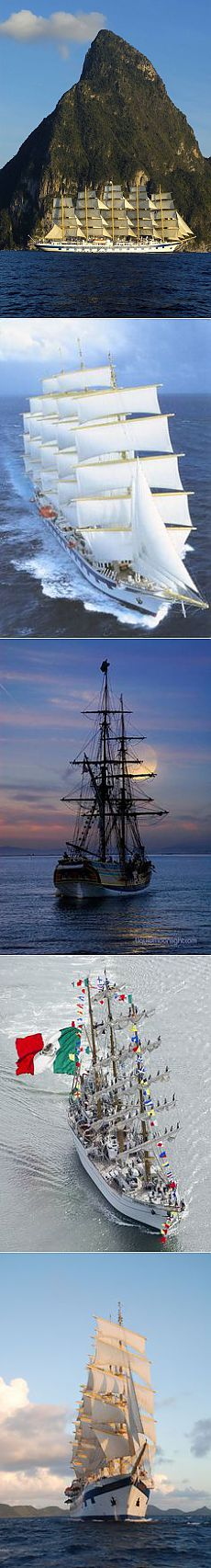 Tall Ship: Crucero a vela. | Tall Ships