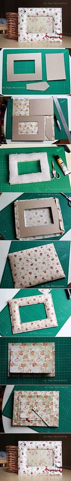 Best DIY Ideas: Easy Way To Make a Picture Frame