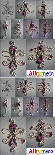 Tutorial Wire Work and Polymer Clay | Flickr - Photo Sharing!