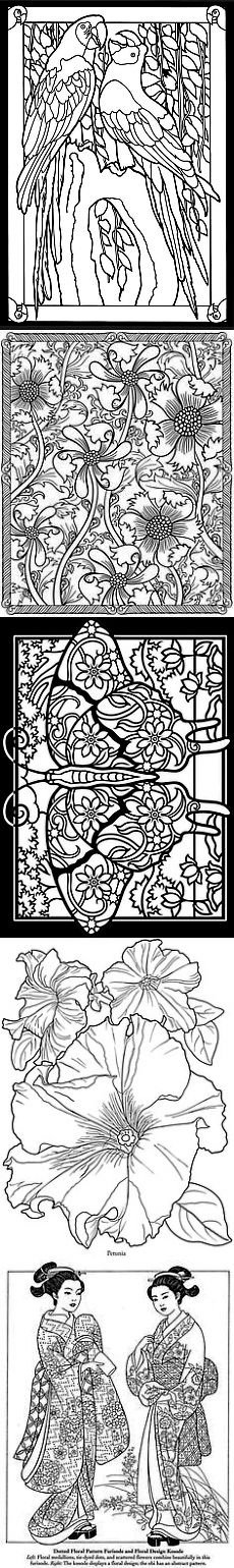 Welcome to Dover Publications | ТРАФАРЕТЫ